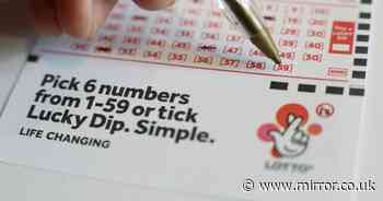 Saturday's winning National Lottery numbers for must win £11.9m jackpot