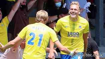 Torquay United 4-2 Notts County (AET): Hall & Moxey goals send Gulls to final