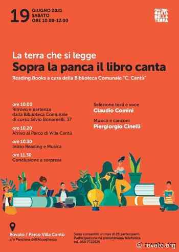 Reading Books in biblioteca a Rovato: prenotazioni aperte per l'evento del 19 giugno - Rovato.org