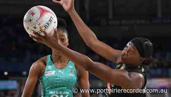Magpies ease to netball win over Vixens - The Recorder