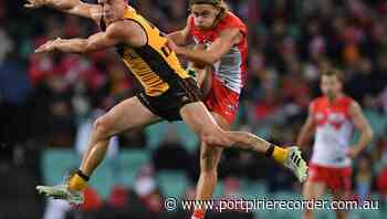 Hawks midfielder Worpel offered AFL ban - The Recorder