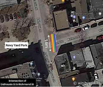Amherstburg Resident Looking To Bring Rainbow Crosswalk To Town - windsoriteDOTca News