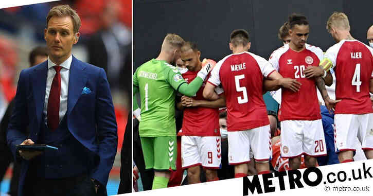 Dan Walker showers Danish football team with 'highest praise and respect' for guarding Christian Eriksen after collapse
