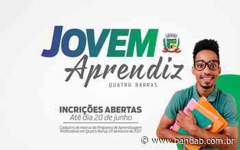 Inscrições para o Programa Jovem Aprendiz estão abertas em Quatro Barras - Banda B - Banda B