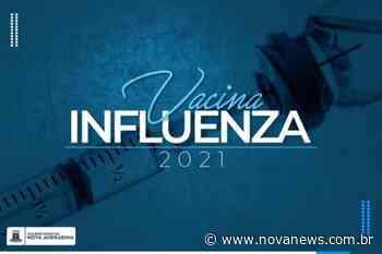"""Nova Andradina promove """"Dia D"""" de vacinação contra a gripe - Nova News"""