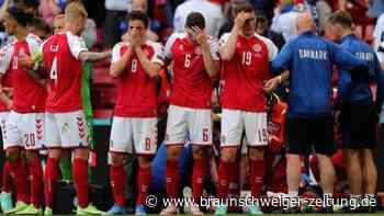 Drama um Christian Eriksen: Dänemark gegen Finnland unterbrochen