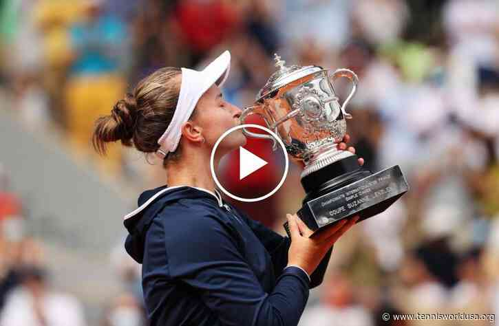 Roland Garros 2021: Pavlyuchenkova vs Krejcikova's HIGHLIGHTS