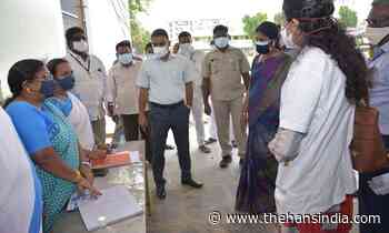 10,000 coronavirus tests being conducted each day in Guntur district - The Hans India