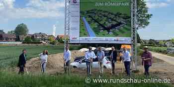 """Neubaugebiet in Bergheim: Im """"Römerpark"""" entstehen 68 Häuser - Kölnische Rundschau"""