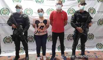 Capturan a una pareja de esposos por extorsión en Montería - W Radio
