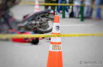 Domiciliarios involucrados en el 70% de los accidentes de tránsito en Montería - LA RAZÓN.CO