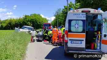 Soccorsi in via Oreno Grave incidente a Concorezzo: quattro persone finiscono in ospedale - Prima Monza