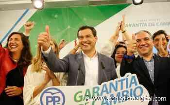 Encuesta: Juanma Moreno (PP) calca el 'efecto Ayuso' para consolidarse en la Junta de Andalucía - Periodista Digital