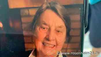 87-Jährige aus Schnaitsee vermisst: Wer hat Erika Neustifter gesehen?