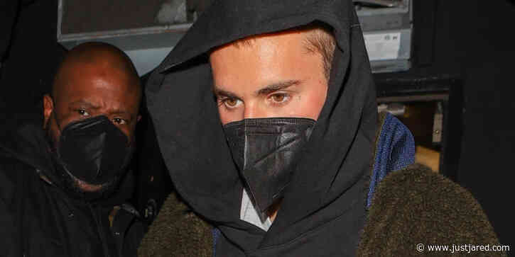 Justin Bieber Keeps It Low Key Leaving The Nice Guy in L.A.