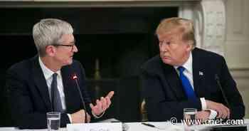 Trump officials seized Democrats' Apple data in leak probe, report says     - CNET