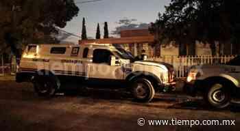 Leve incendio en camión de valores en la Samaniego - El Tiempo de México