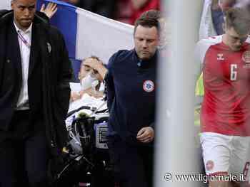 """Paura agli Europei: Eriksen ha un arresto cardiaco. """"Ora è sveglio"""""""