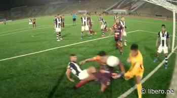 Andy Pando anotó el 2-2 parcial para Cultural Santa Rosa ante Alianza Lima - VIDEO - Libero.pe
