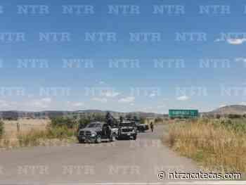 Dejan dos cabezas humanas en entronque a Santa Rosa - NTR Zacatecas .com