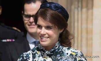 Princess Eugenie looks stylish in signature florals - watch her home video