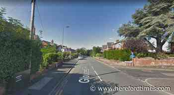 Motorbike and car involved in Herefordshire crash