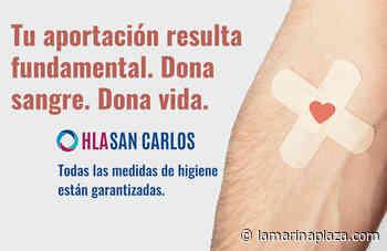 El Hospital San Carlos colaborará con el Centro de Transfusión de la Comunidad Valenciana por el Día Mun... - La Marina Plaza. Noticias. Diario de la Marina Alta.