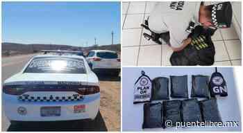 Esto aseguró la Guardia Nacional en Chihuahua desde marzo - Puente Libre La Noticia Digital