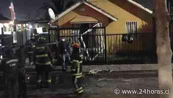 Adulto mayor lesionado explosión Puente Alto - Nacional - 24horas - 24Horas.cl