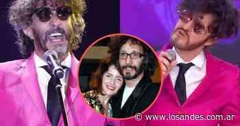 """Romina Ricci se caracterizó como su ex, Fito Páez, y el cantante le habló directamente a su hija: """"Es la familia que te tocó"""" - Los Andes (Mendoza)"""