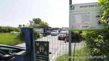 Un obus découvert dans la déchetterie à Cambrai, quatre personnes évacuées - La Voix du Nord