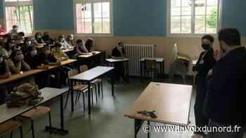 Cambrai: quand l'inspectrice générale débarque au lycée Paul-Duez... Qui a dit que les jeunes - La Voix du Nord