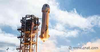 Jeff Bezos' Blue Origin auctions off ticket to space alongside Bezos for $28M     - CNET