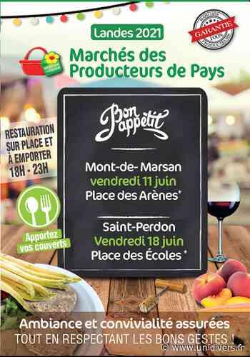 Marché des Producteurs de Pays Saint-Perdon vendredi 18 juin 2021 - Unidivers