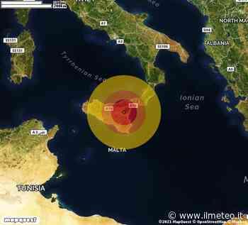 TERREMOTO in provincia di CATANIA, in SICILIA, a Adrano. Magnitudo 2.8. Ecco QUI i DETTAGLI - iLMeteo.it