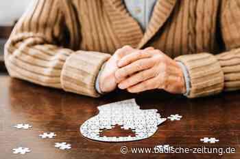 Eine Maulburgerin will das Thema Demenz aus der Tabuzone holen - Maulburg - Badische Zeitung