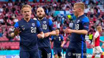 Finland beat Denmark at Euro after Eriksen collapses