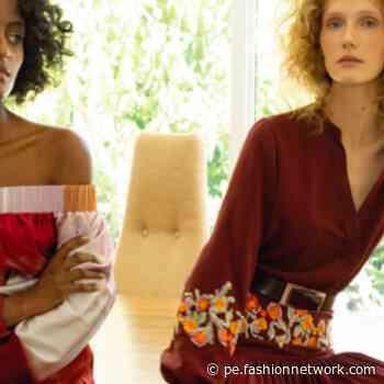 Silvia Tcherassi se viste de tonos tierra y rojos para el Resort 2022 - FashionNetwork.com CO