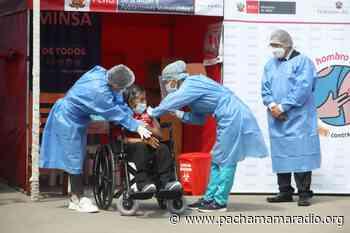 Lampa: hasta el 14 de junio se vacunará a mayores de 60 años, personas con síndrome de Down y con alteraciones mentales en Santa Lucía - Pachamama radio 850 AM