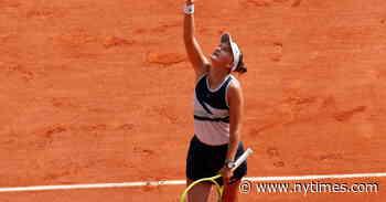 French Open Champion Krejcikova Thanks Her Mentor, Novotna