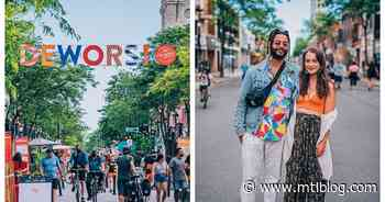 All The Things You Can Do On Verdun's Pedestrian-Only Promenade Wellington This Summer - MTL Blog