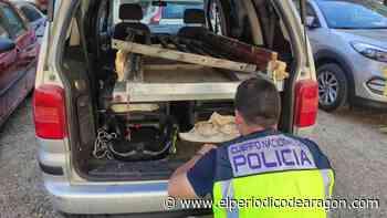 Detenidos cuatro jóvenes cuando robaban una puerta antiokupa en Zaragoza - El Periódico de Aragón