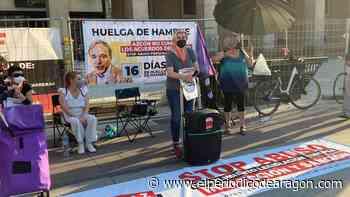 La interina de Zaragoza deja la huelga de hambre tras 16 días - El Periódico de Aragón