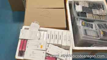Intervenidos más de 4.800 dispositivos electrónicos falsos en una tienda de Zaragoza - El Periódico de Aragón