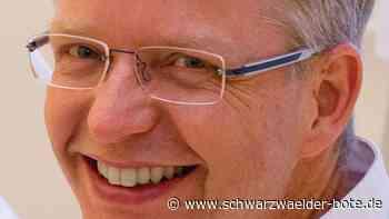 Helios-Klinik in Rottweil - Bekannter Kardiologe Martin Maunz nimmt Abschied - Schwarzwälder Bote