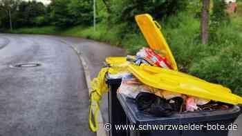 Viele Tonnen bleiben stehen - Corona bremst Müllabholung im Kreis Rottweil aus - Schwarzwälder Bote