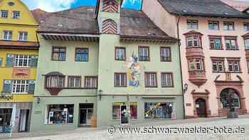Ist Stadt interessiert? - Mächtiges Gebäude in Rottweiler Fußgängerzone steht leer - Schwarzwälder Bote