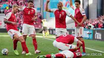 Denmark's Christian Eriksen 'stable and awake' after collapsing during Euro 2020 match