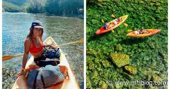 You Can Cross 20 km Of Sparkling Turquoise Water On A Kayak In Quebec & It's Pure Magic - MTL Blog