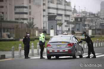 Domingo 13 de junio en Lima y Callao: no podrán circular vehículos particulares - Agencia Andina